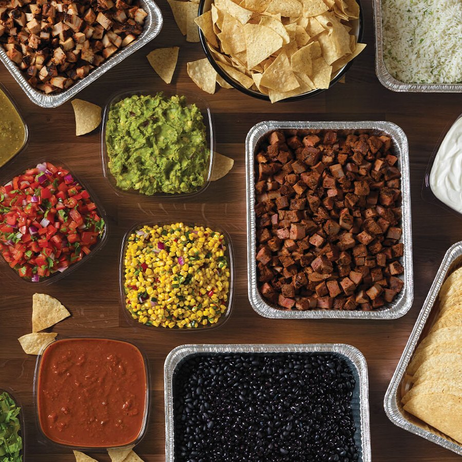 QDOBA Catering Planning - Easy Clean Up