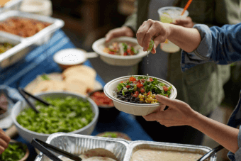 Qdoba Catering - Fresh Lime