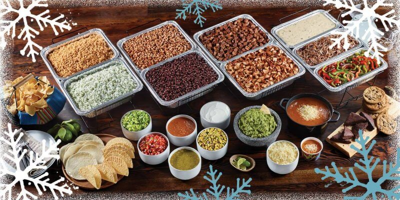 Holiday Catering With Qdoba Mexican Eats