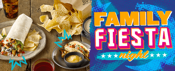 Party At Qdoba: It's A Family Fiesta!